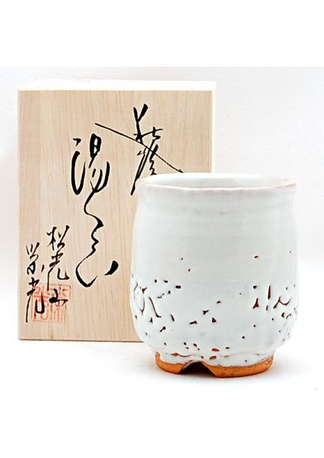 Onihagi yunomi teacup