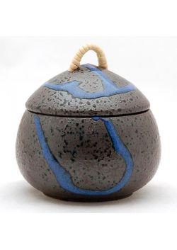 Cukiernica mushiwan czarno - granatowa