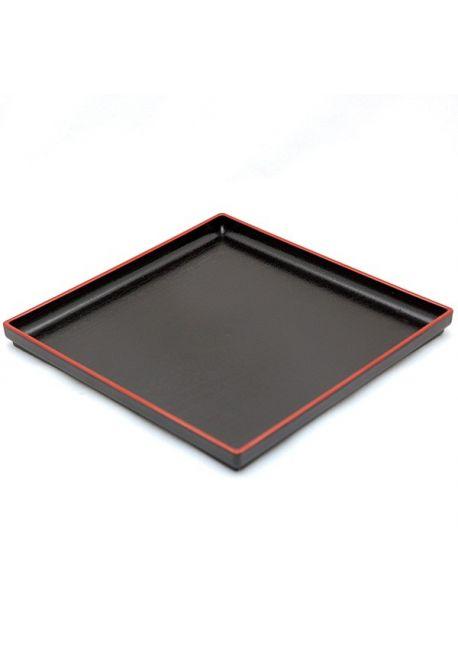 Taca kwadratowa czarna