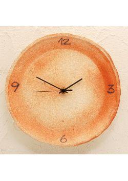 Zegar pomarańczowy duży