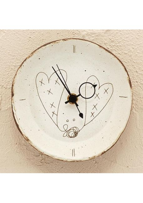 Zegar serce mały