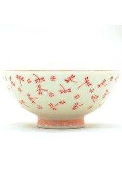 Miseczka porcelanowa tonbo różowa
