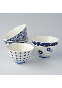 Miseczki porcelanowe Indigo Japan