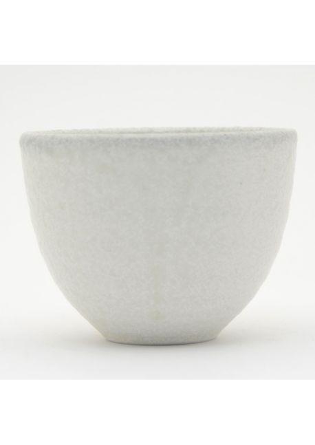 Grey teacup