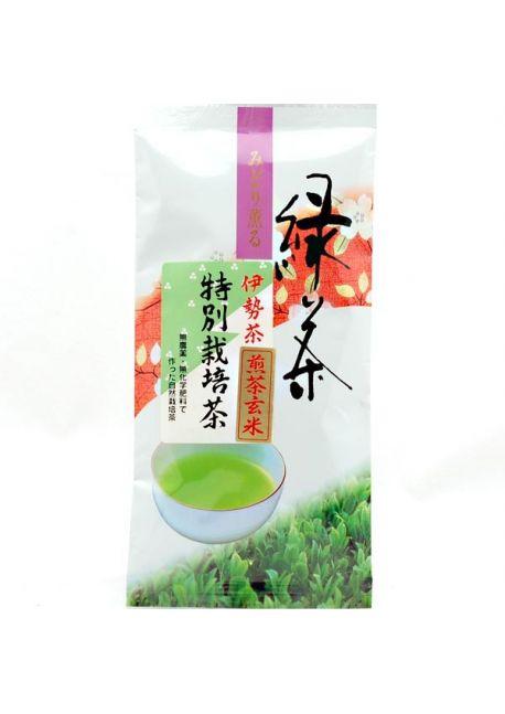 Genmaicha sencha tea Isecha
