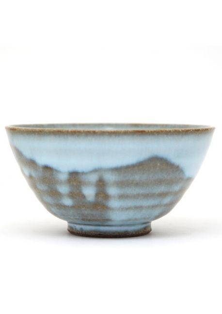 Blue bowl mishima