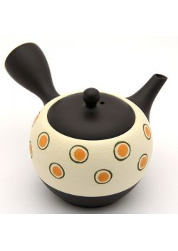 Dot pattern kyusu