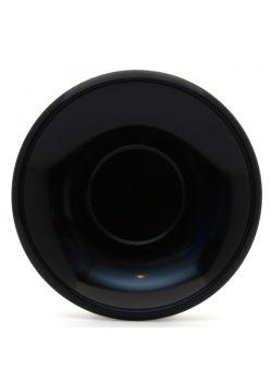 Plastic saucer black