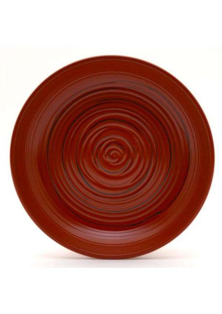 Talerzyk czerwono - czarny