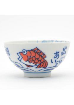 Porcelain ricebowl medetai