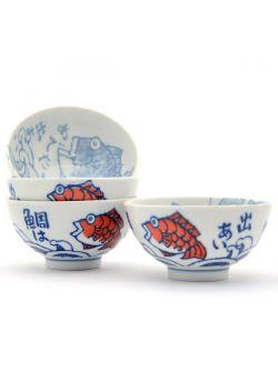 Porcelain ricebowl set medetai