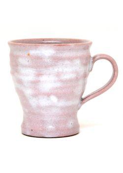 Pink shino mug