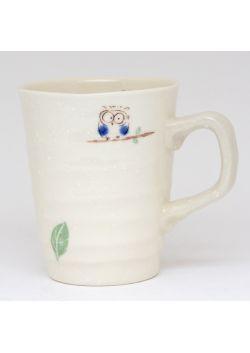 Fukurou blue mug