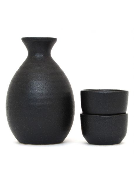 Graphite sake set