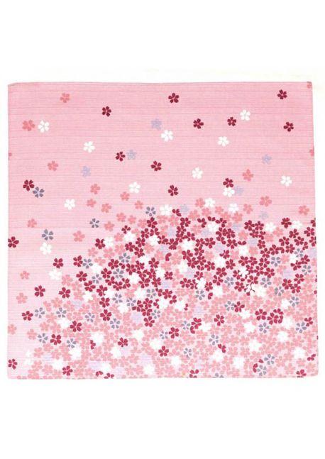 Furoshiki edozakura Chiyo Uno light pink