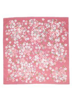 Furoshiki himezakura Chiyo Uno różowa
