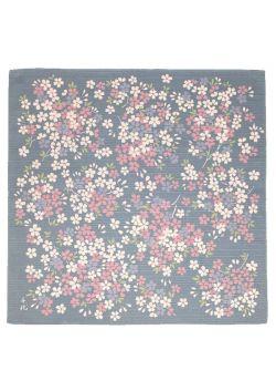 Furoshiki himezakura Chiyo Uno gray