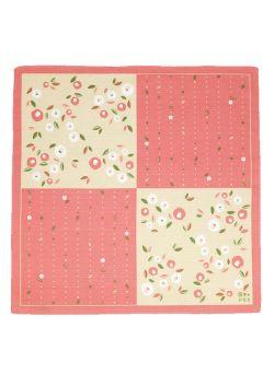 Furoshiki tsubaki pink
