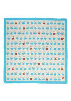 Furoshiki tetsubin blue