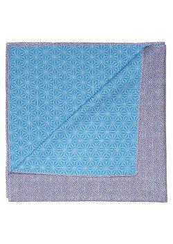 Furoshiki dwustronna fioletowo - niebieska S