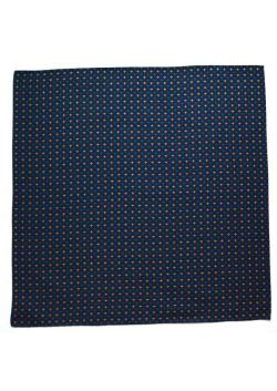 Furoshiki sashiko navy blue crosses