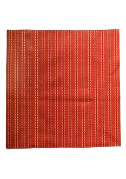 Furoshiki sashiko czerwona paski