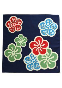 Furoshiki ume navy blue