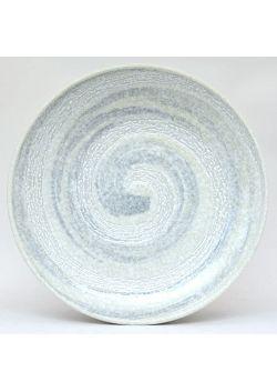 Plate uzu grey