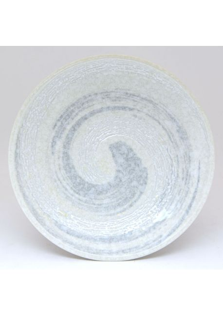 Medium plate uzu grey