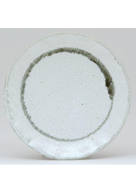 Kiji white plate