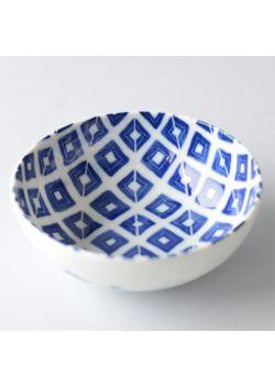 Miseczka porcelanowa w romby