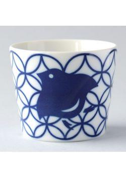 Porcelain teacup chidori shippo