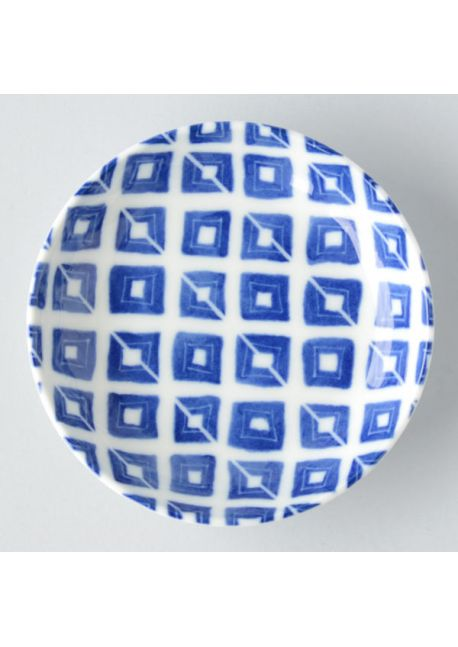 Porcelain plate masume