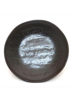 Small graphite dessert plate