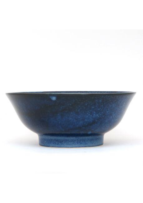 Navy ramen bowl very big