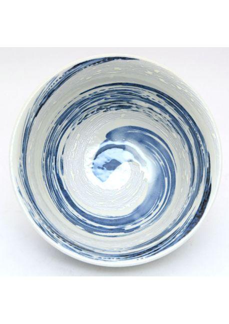 Bowl blue uzu