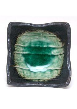 Miseczka kwadratowa zielona