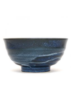 Udon bowl navy blue