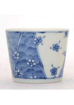 Soba choko teacup hana