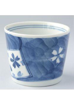 Soba choko teacup sakura