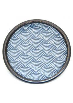 Nami porcelain plate