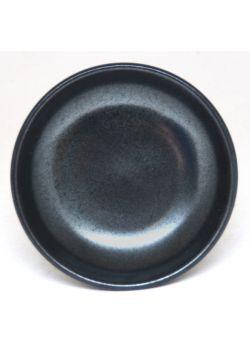 Plain graphite saucer