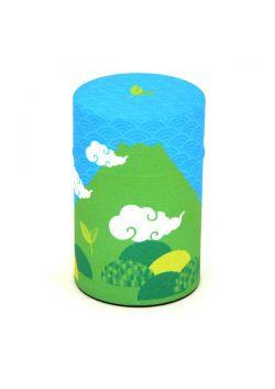 Puszka na herbatę fuji-san lato