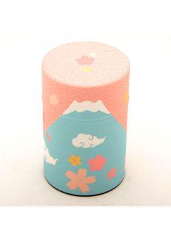Fuji-san tea tin spring