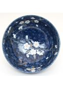 Sakura ramen bowl navy blue
