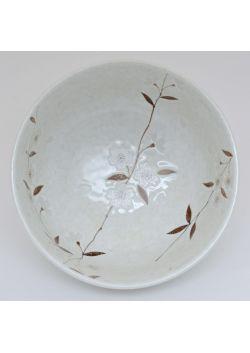 Sakura ramen bowl white