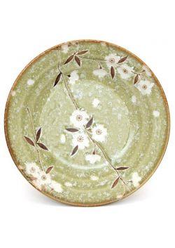 Sakura green pasta plate