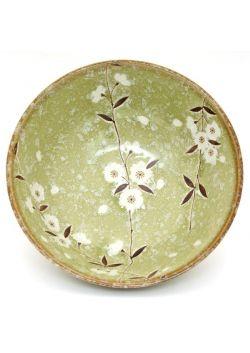 Miska sakura zielona bardzo duża