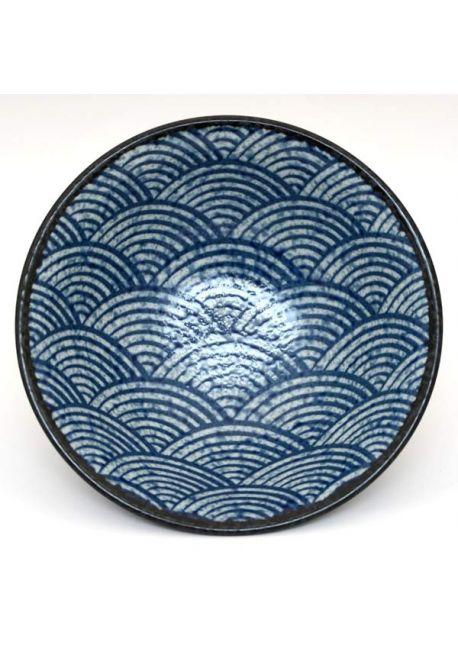 Seigaiha ramen bowl
