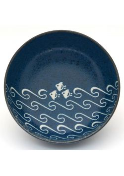 Nami chidori blue bowl